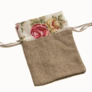 saquinho de tecido