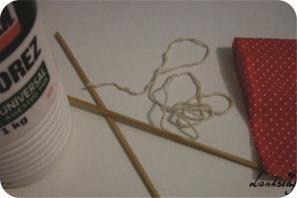 tutorial bandeirinhas para bolo