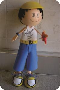 boneco de eva