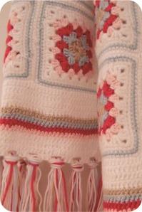 granny squares scarf