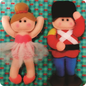 bailarina e soldadinho
