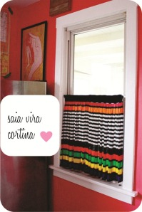 cortina de saia
