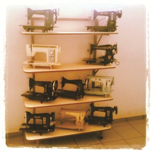 sewing machine collection