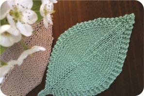 knit leaf