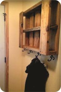 cabide de parede