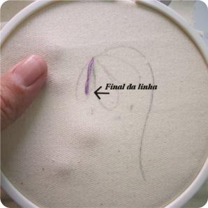 tutorial flor bordada