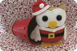 christmas felt owl