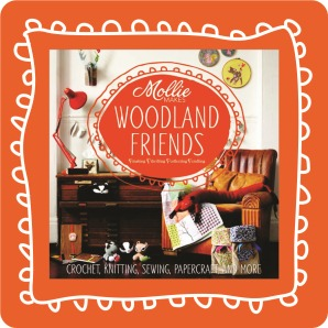 mollie makes woodland friends book