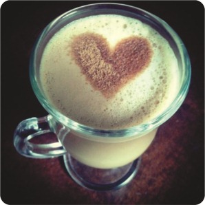 heart coffe