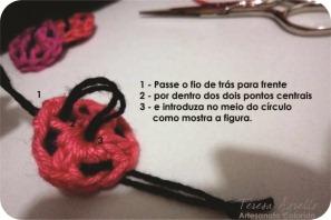 how to crochet a ladibug