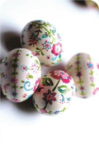 handmade easter egg