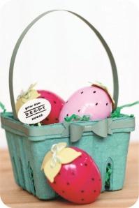 recyled easter basket