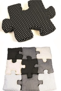 puzzle cushions