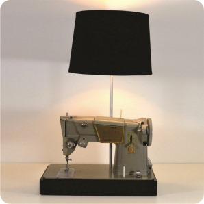 upcycled sewing machine