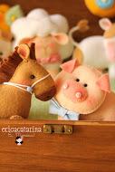 fazendinha cavalinho porquinho