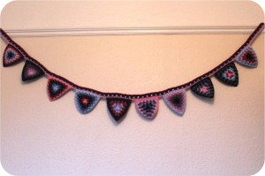crochet bunting tutorial