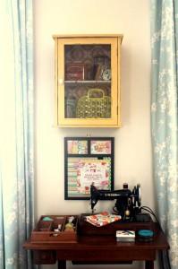 sewing corner
